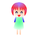 Red-head girl image