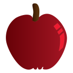 Crimson apple