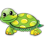 Cartoon turtle image