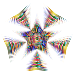 Prismatic Star Line Art 2 No Background