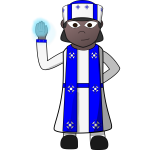Cleric vector image