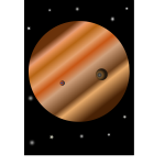 simple space planet