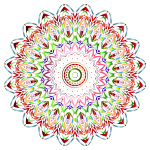 Chromatic Mandala No Background