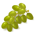 Green grapes image