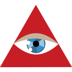 eye in triangle
