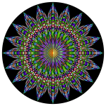 Chromatic Geometric Mandala