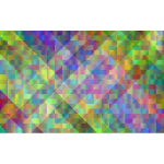Prismatic Abstract Geometric Background