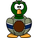 Cartoon Mallard