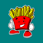 frenc fries maskot