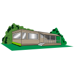 Mobile home drawing