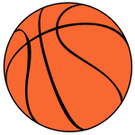 Basketball vector symbol