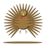 Cartoon turkey-1579450699