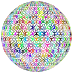 Prismatic Abstract Geometric Sphere