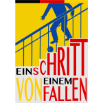 German poster for falling