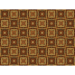 Background pattern with brown squares