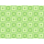 Green tiles seamless pattern