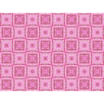 Background pattern of pink squares