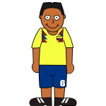 Colombian soccer player