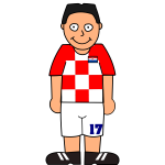 Croatian football player