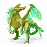 Yellow Green Leafy Sea Dragon