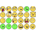 Troll face color