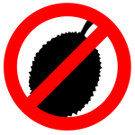 ''No fruit'' symbol