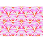 Background pattern with red and pink triangles