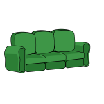 Reclining Sofa For Three (Remix)
