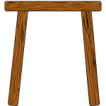 mine timbering wooden support beams