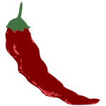Isolated Chili Pepper