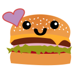 Kawaii Hamburger