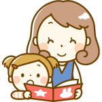 Reading with mother (#2)