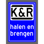Kiss and ride symbol