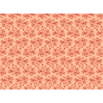 Floral pattern in red and pink