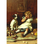 Girl with dog 2