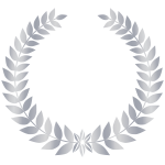 Silver Laurel Wreath