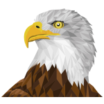 Low Poly Bald Eagle By Sharpi1980