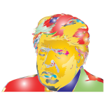 Donald Trump Portrait 3 Surreal
