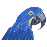 Low Poly Macaw By Emmie Norfolk
