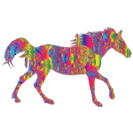 Decorated Horse Spectral