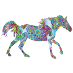 Decorated Horse Prismatic