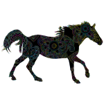 Decorated Horse Prismatic Variation 2