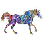 Decorated Horse Prismatic 3