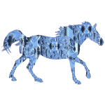 Decorated Horse Cobalt Chrome