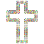 Polyprismatic Tiles Cross No BG