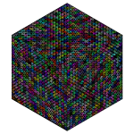 Isometric Peace Cube Prismatic