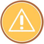Warning Icon (rounded)