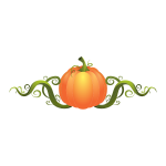 An invasive pumpkin