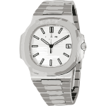 swiss watch in white gold - horlogerie