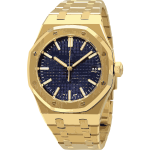 swiss watch in yellow gold - horlogerie